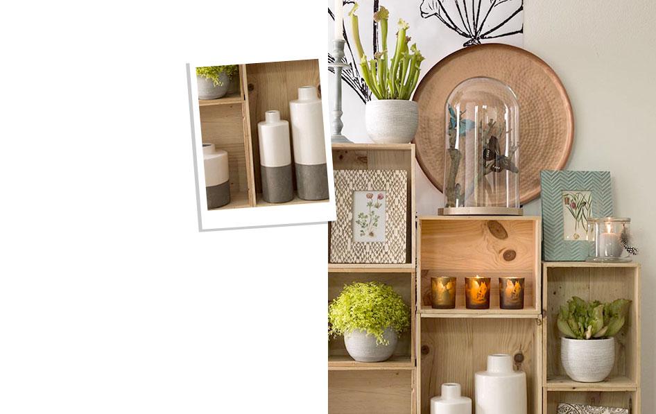 d co esprit nature mobilier vases plaids v nement jardinerie truffaut v nement. Black Bedroom Furniture Sets. Home Design Ideas