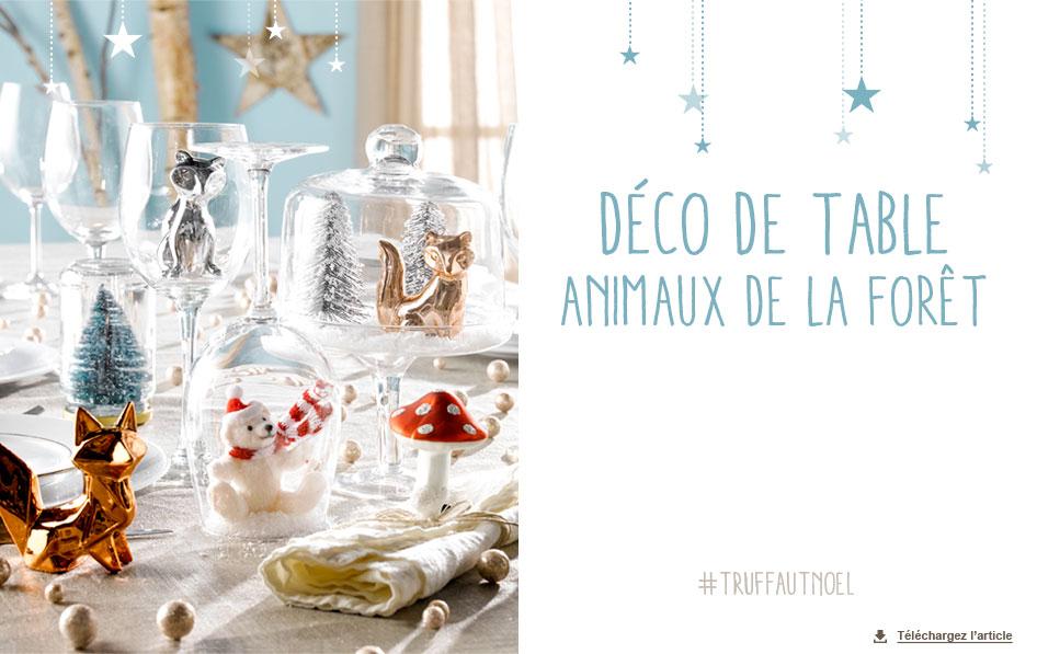Decoration De Noel Animaux De La Foret My Blog