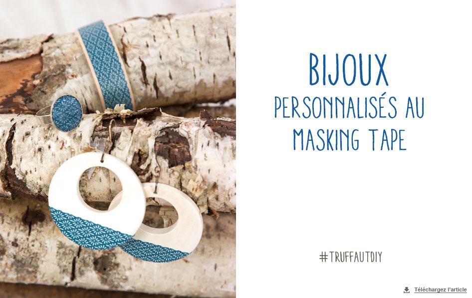 customisation de bijoux masking tape carnet d id es. Black Bedroom Furniture Sets. Home Design Ideas