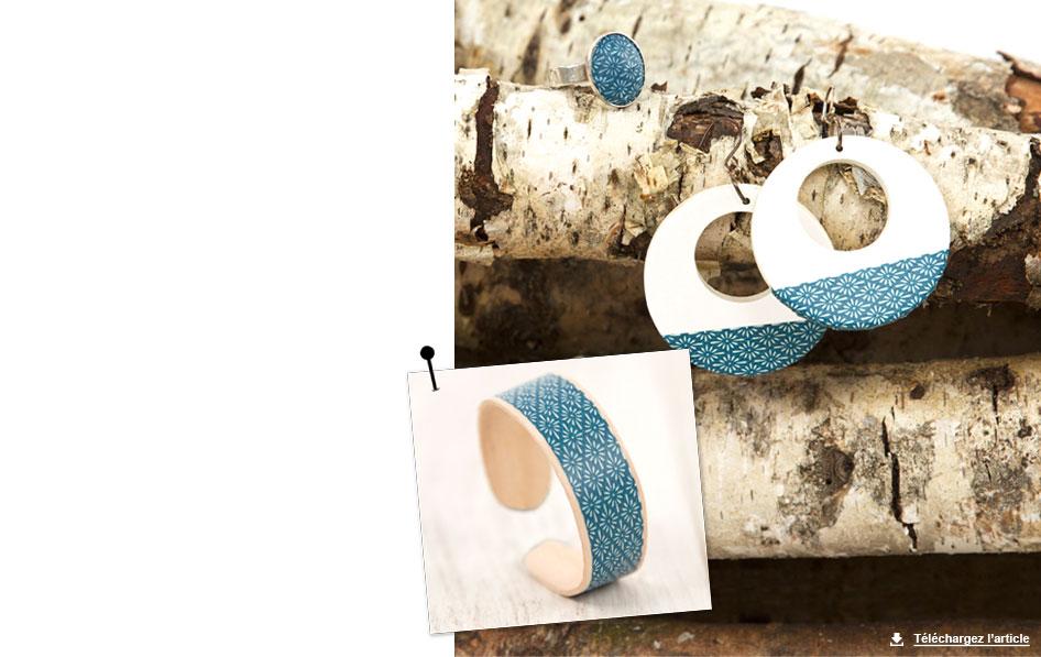customisation de bijoux masking tape carnet d id es jardinerie truffaut v nement. Black Bedroom Furniture Sets. Home Design Ideas