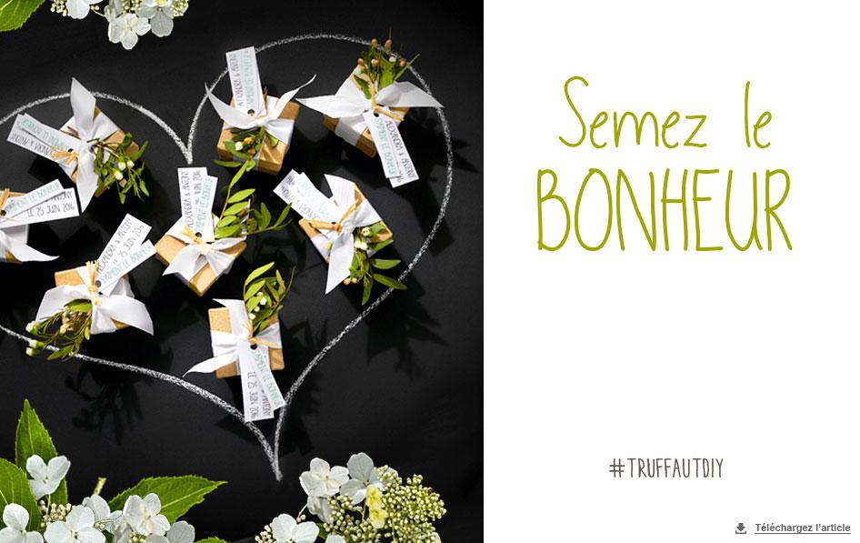 Cadeau Invite Mariage Carnet D Idees Jardinerie Truffaut
