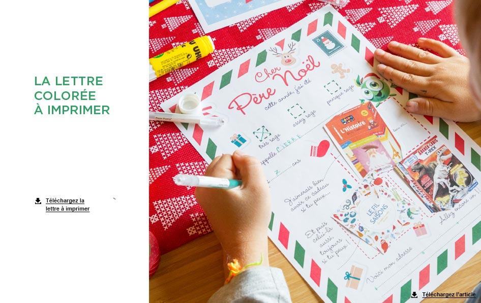 Modèle De Lettre Au Père Noël Carnet D Idées Jardinerie